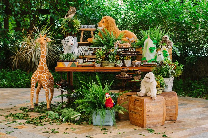 Fazendo a Festa no GNT Animais da Floresta