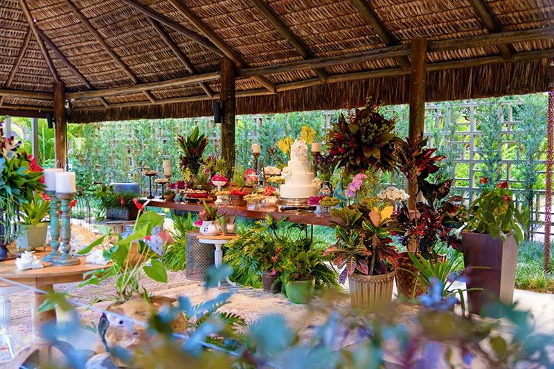 Casamento Sustentável mesa de doces