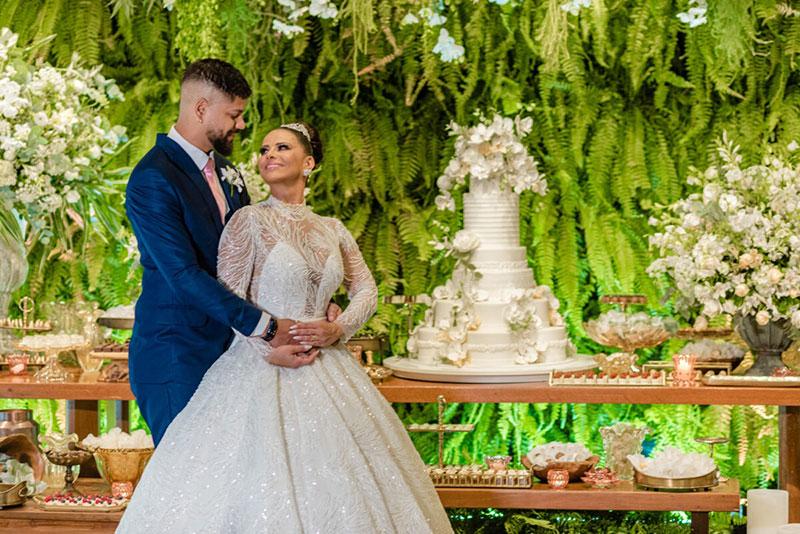 Onde foi o casamento de Viviane Araujo e Guilherme Militão